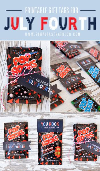 Fourth Of July Candy Favors