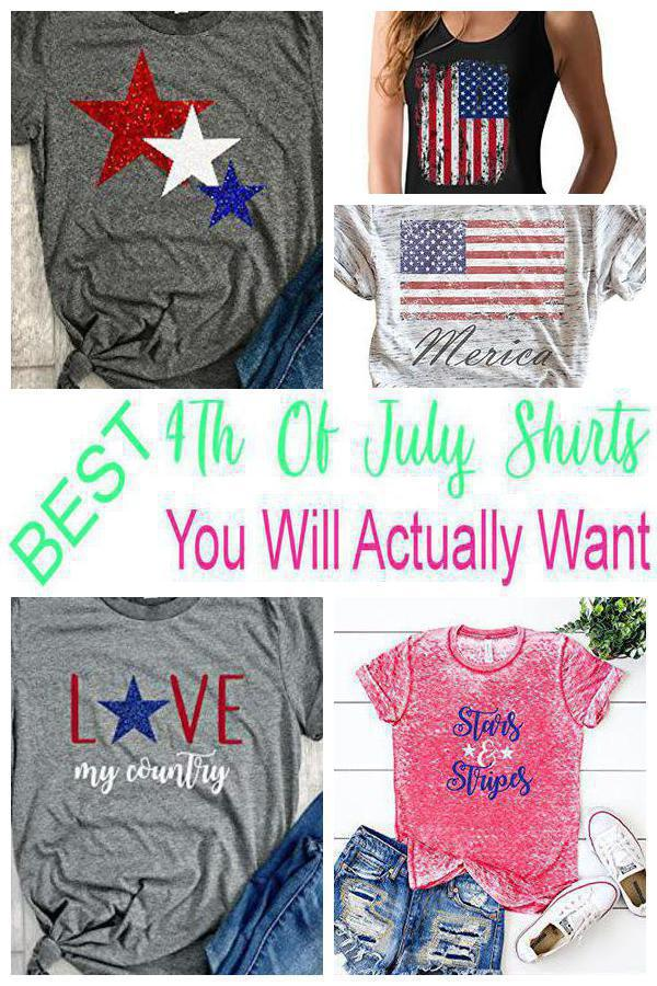 4th Of July Shirts Party Ideas