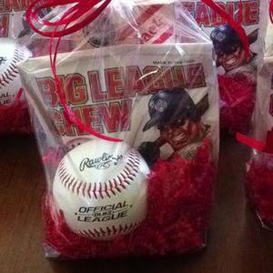 Baseball Party Favor Ideas