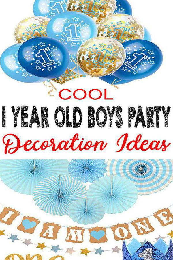 Best 1 Year Old Boys Party Decorations