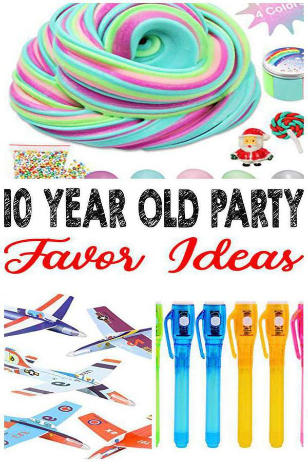 10 Year Old Party Ideas
