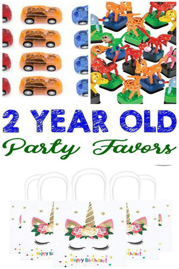 Best 2 Year Old Party Favor Ideas