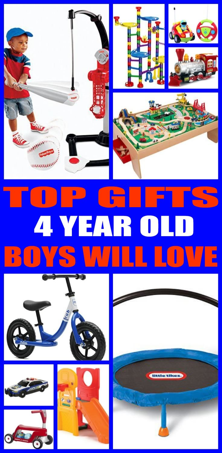 Best Gifts 4 Year Old Boys Will Love