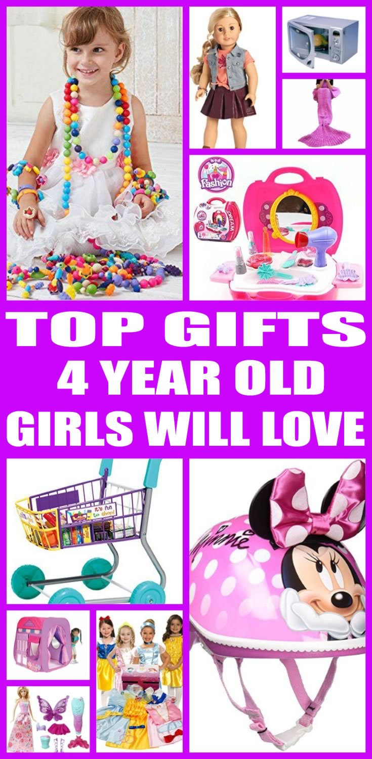 Gifts for 4 years old girl question You