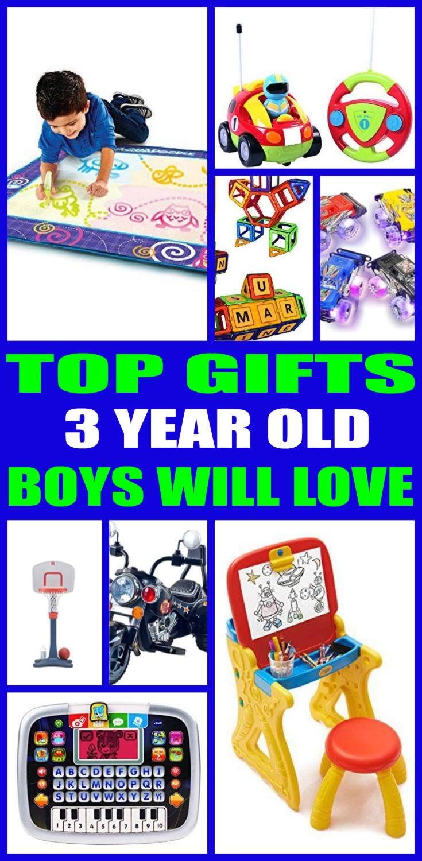 Good Birthday Gift For 3 Year Old Boy