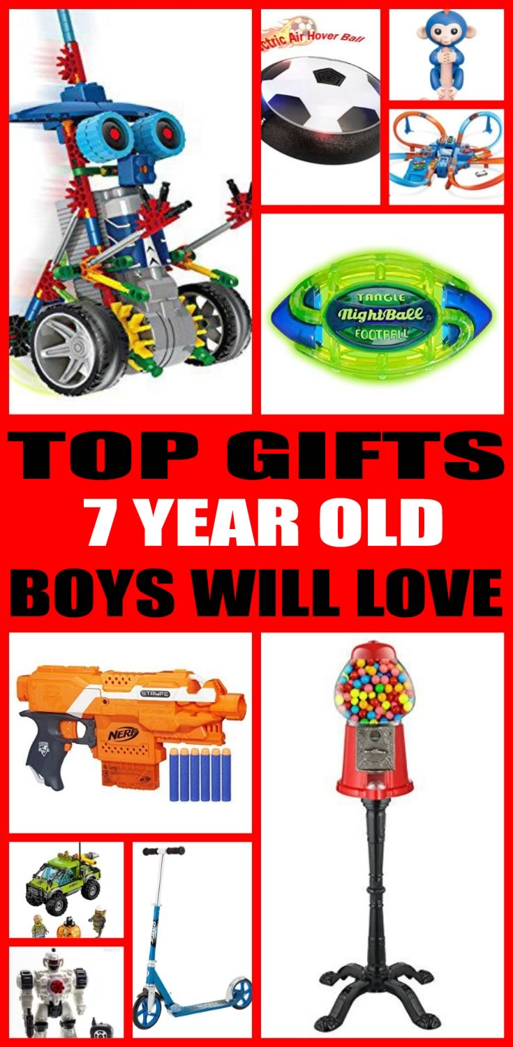 Best Gifts For 7 Year Old Boys Boy Party Ideas