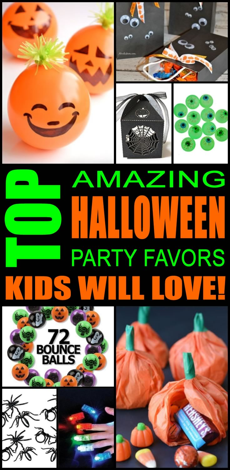best halloween party favor ideas