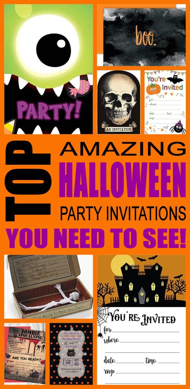 Halloween Party Invitation Ideas – Halloween Party Invitation Ideas