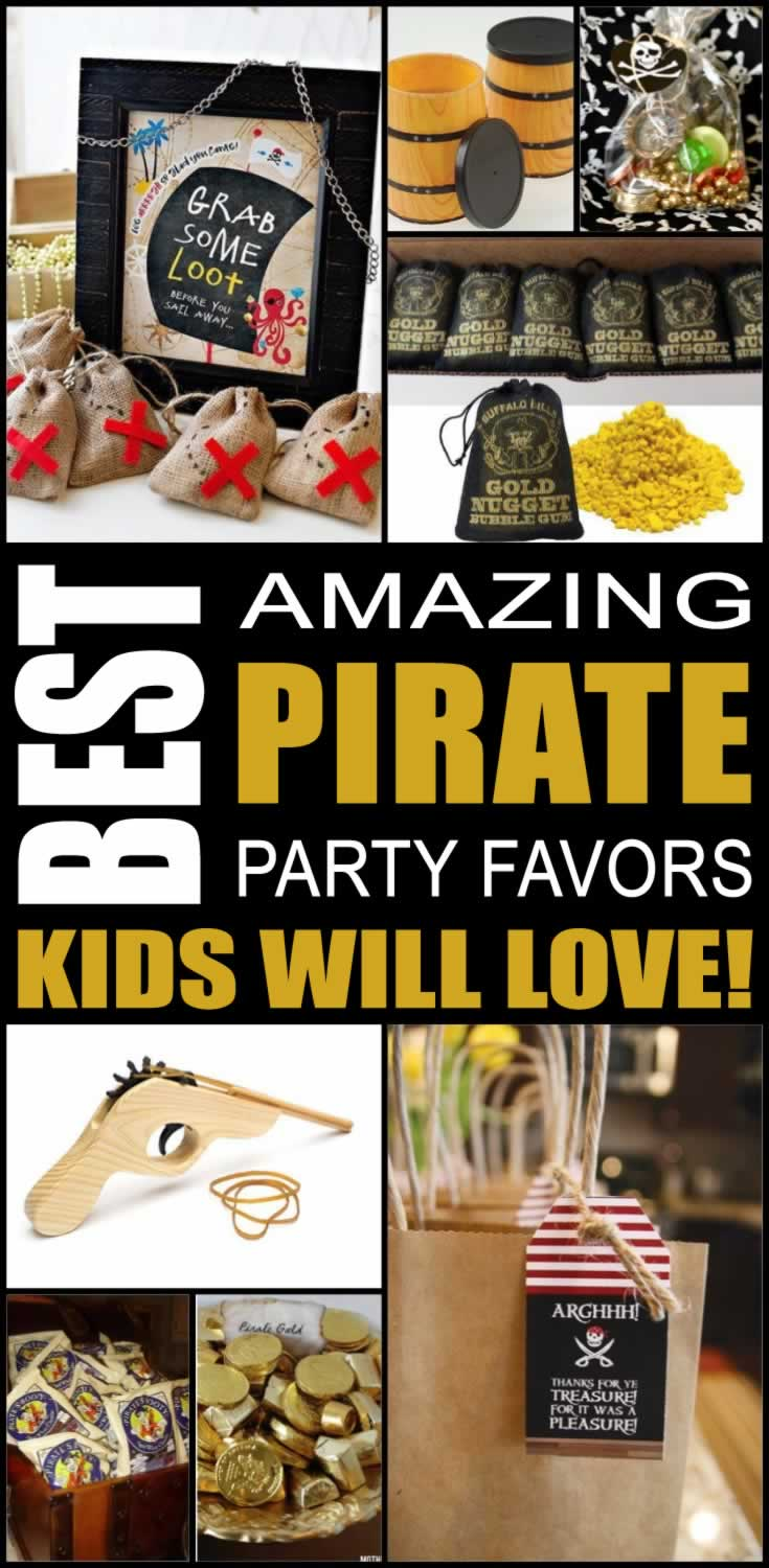 best pirate party favors kids will love