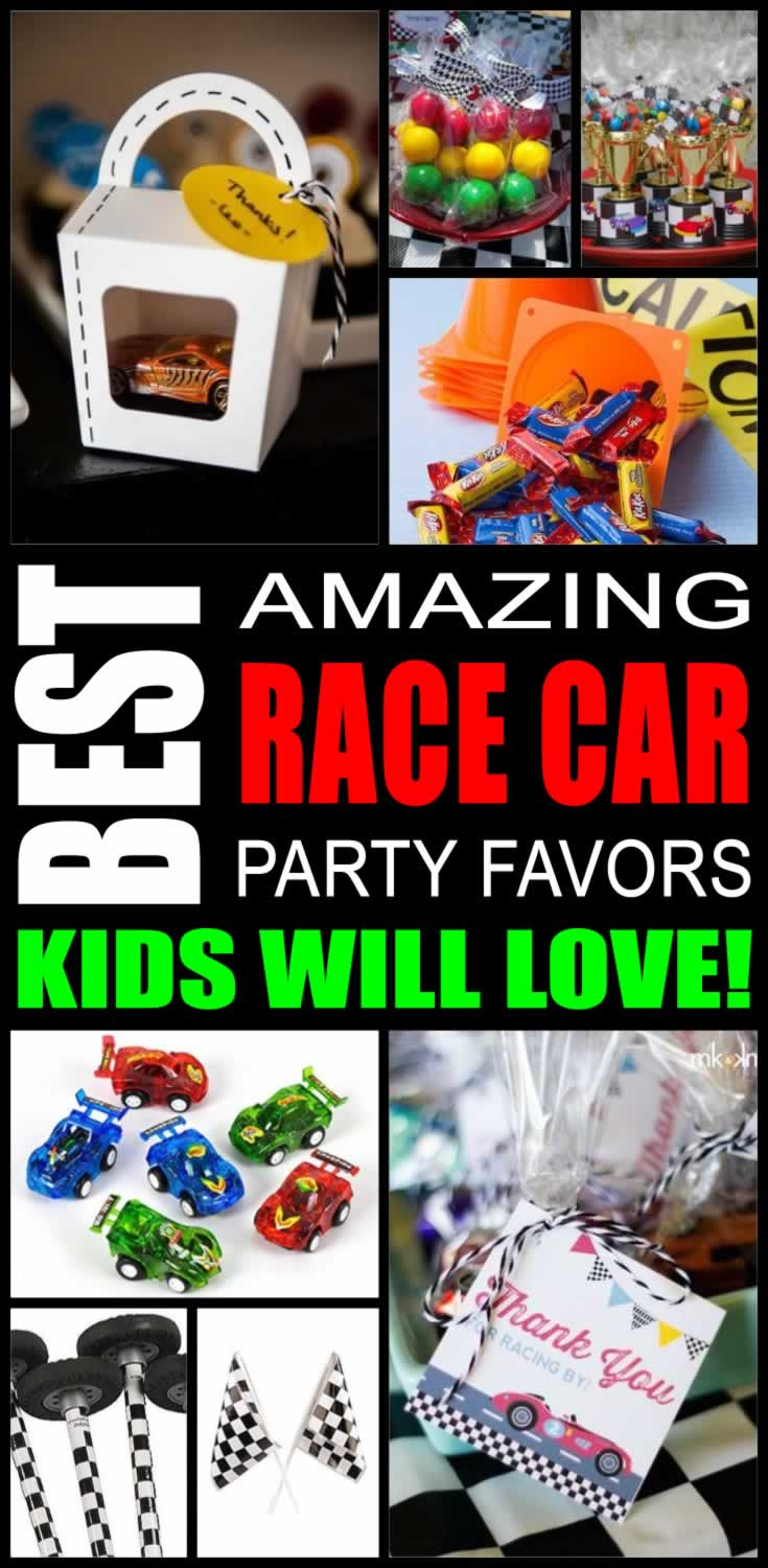 Best Race Car Party Favors Kids Will Love