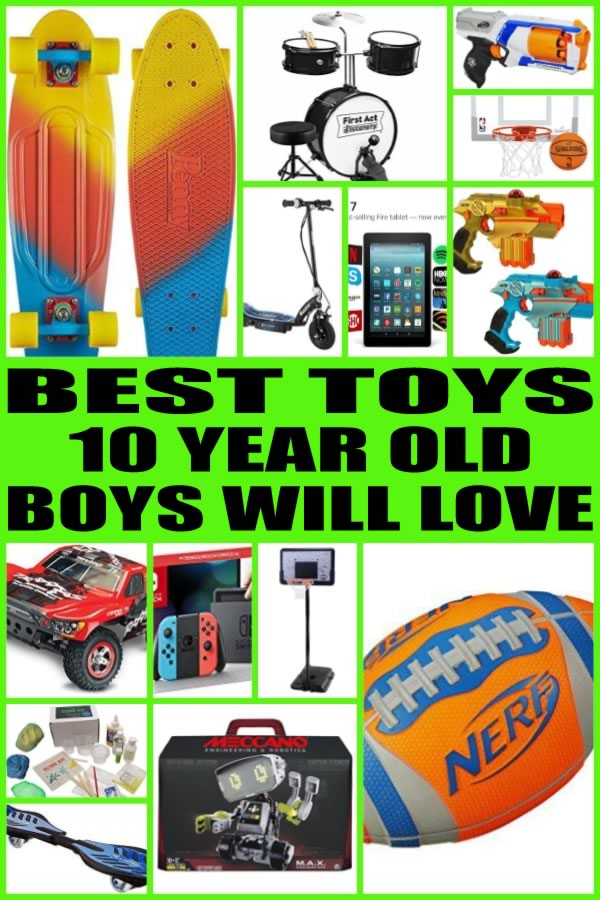 Toys For 10 Year Boys : Best toys for year old boys
