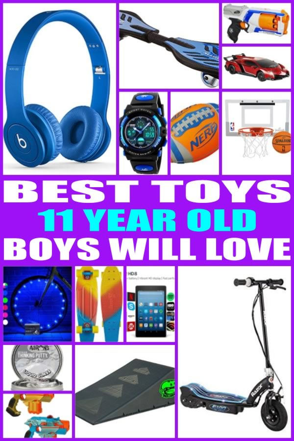 Toys For 11 Year Boys : Best toys for year old boys