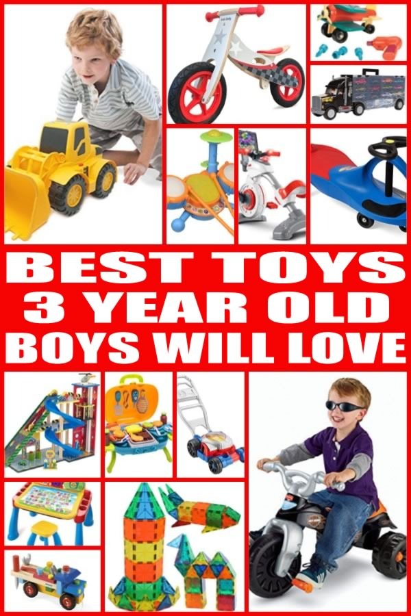 Toys For 3 Year Boys : Best toys for year old boys