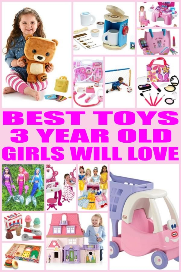 Top Three Toys Of 2012 : Best toys for year old girls