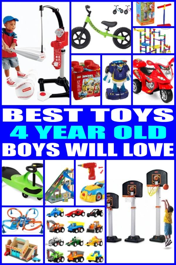 Best Toys for 4 Year Old Boys