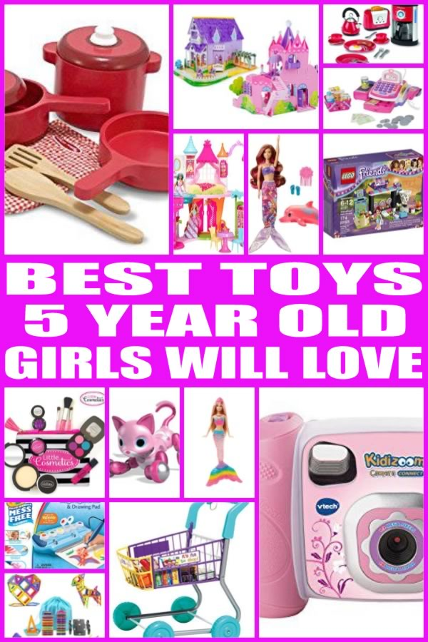 Popular Toys For 5 Year Olds : Best toys for year old girls
