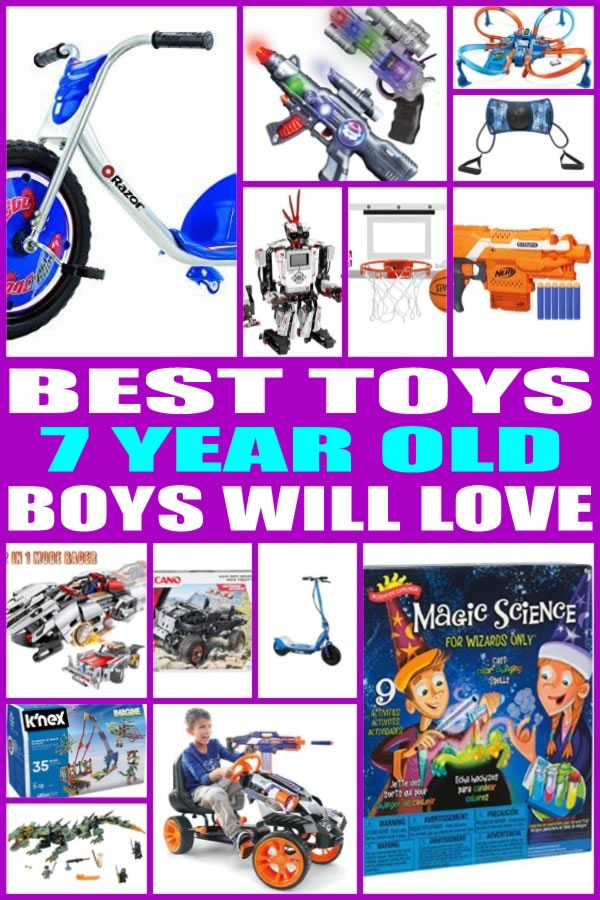 Toys For 7 Years : Best toys for year old boys