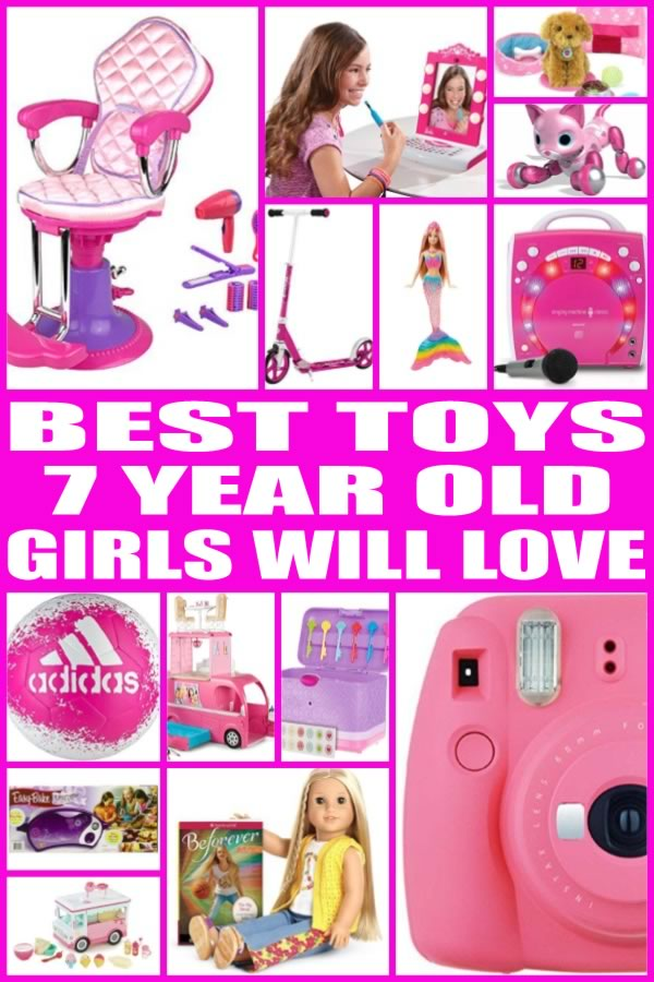 Toys For 7 Years : Best toys for year old girls