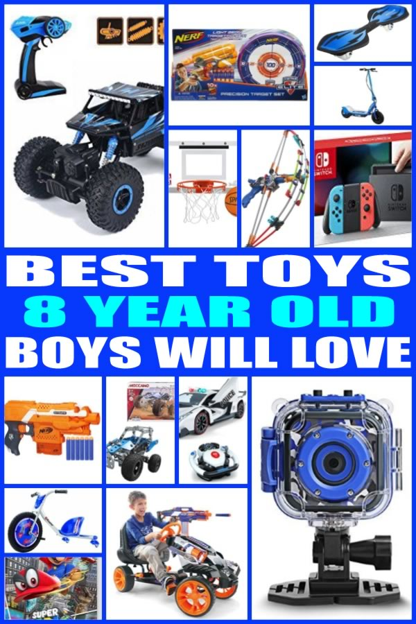 Toys For 8 Year Boys : Best toys for year old boys
