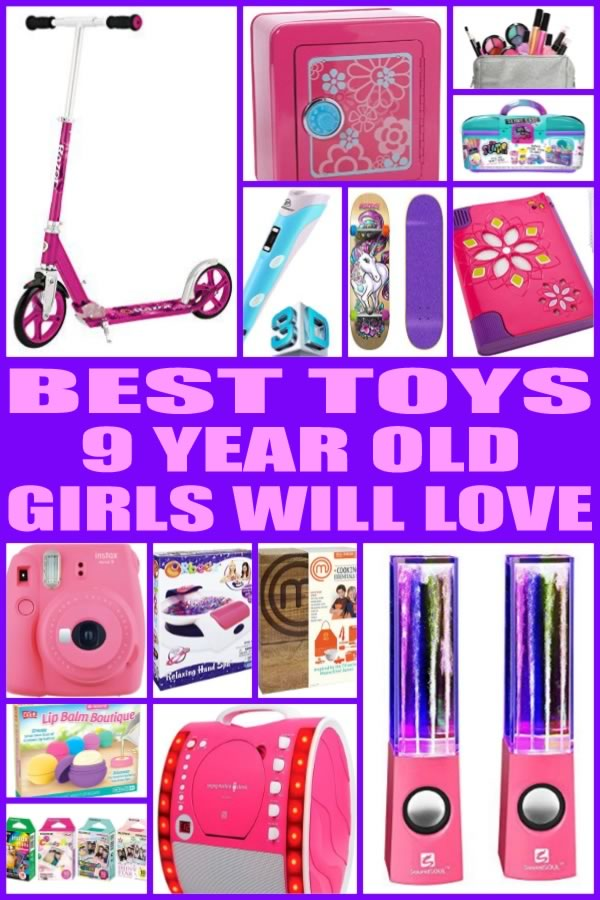 Toys For 9 Years : Best toys for year old girls