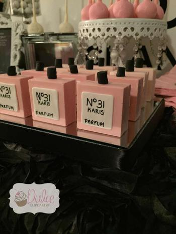 Chanel Baby Shower Favors