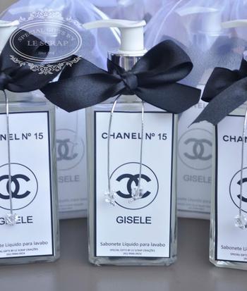 26fc090af07638 Chanel Baby Shower Favors