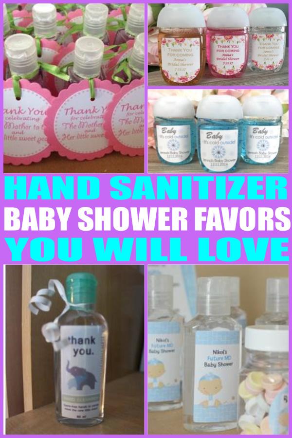 Superior Hand Sanitizer Baby Shower Favors
