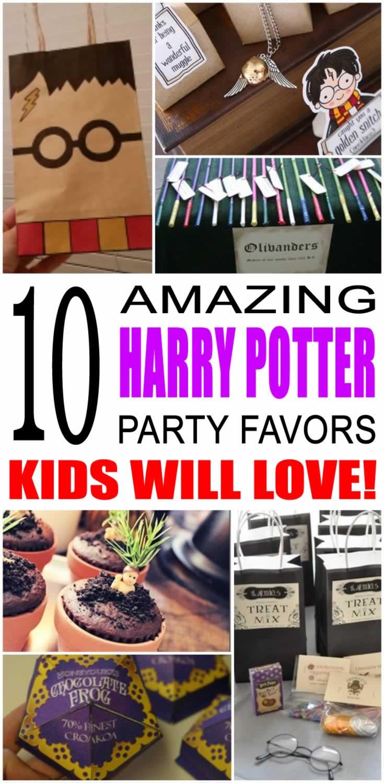 Harry Potter Party Favor Ideas