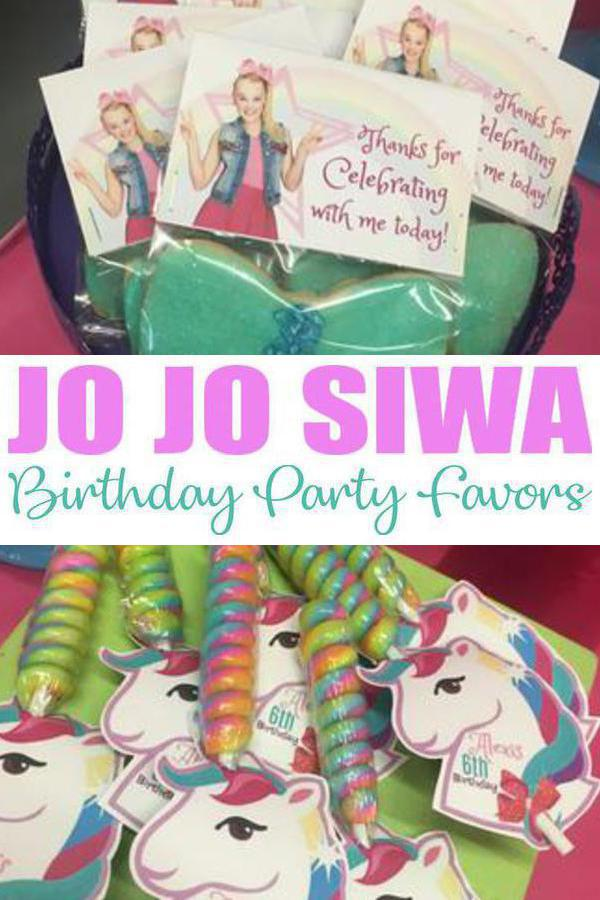 2038c58c22c JoJo Siwa Birthday Party Favors