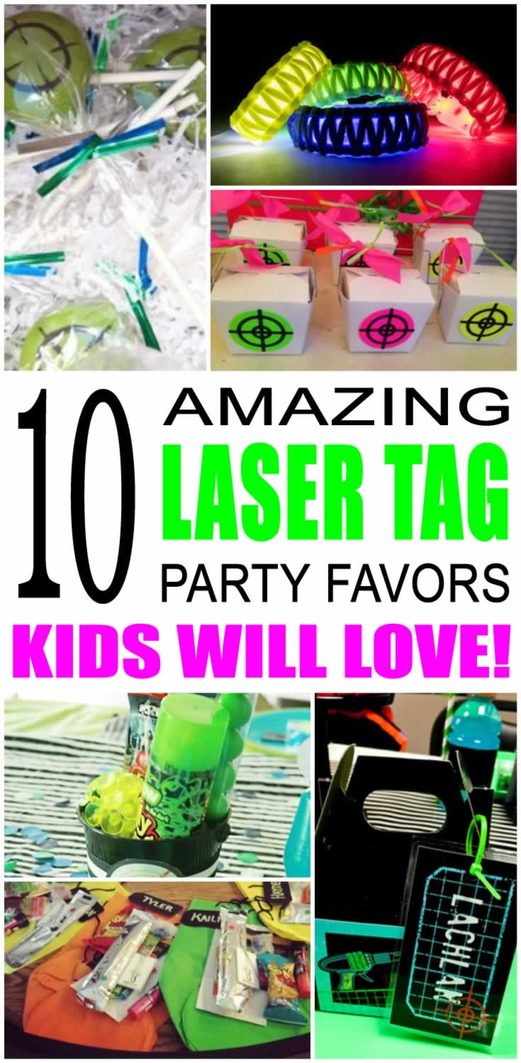 Fabulous Laser Tag Party Favor Ideas Birthday Cards Printable Riciscafe Filternl