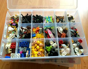 Lego Storage Organization