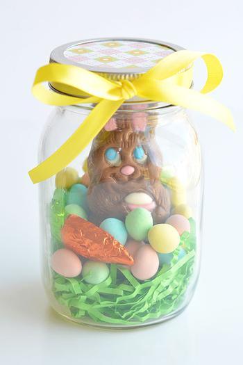 Mason jar gifts for easter mason jar bunny negle Image collections