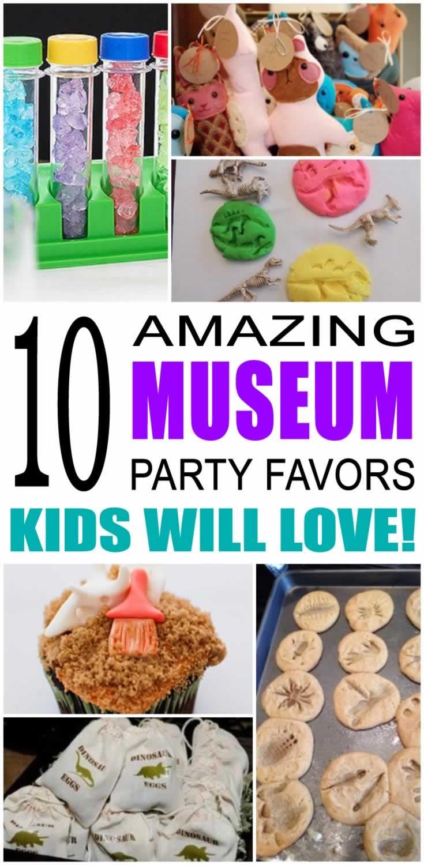 Museum Party Favor Ideas