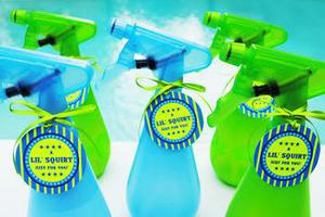 Pool Party Favors Ideas kids pool party favors Squirt Bottle