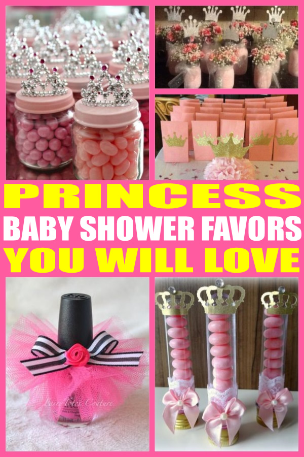 Superb Princess Baby Shower Favors