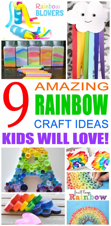 Rainbow Craft Ideas For Kids