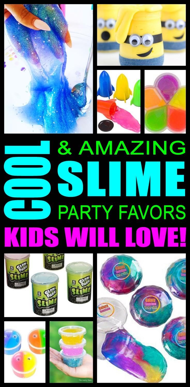 Slime Party Favor Ideas