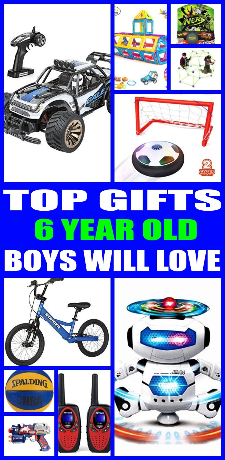 Best Toys Gifts For 6 Year Old Boys : Top year old boys gift ideas