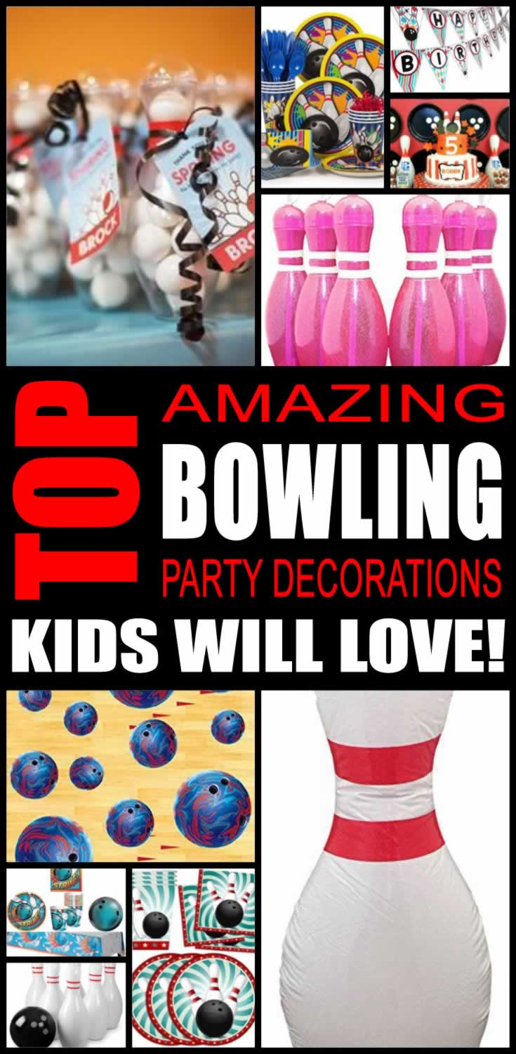 sc 1 st  Kidbam & Top Bowling Party Decorations Kids Will Love