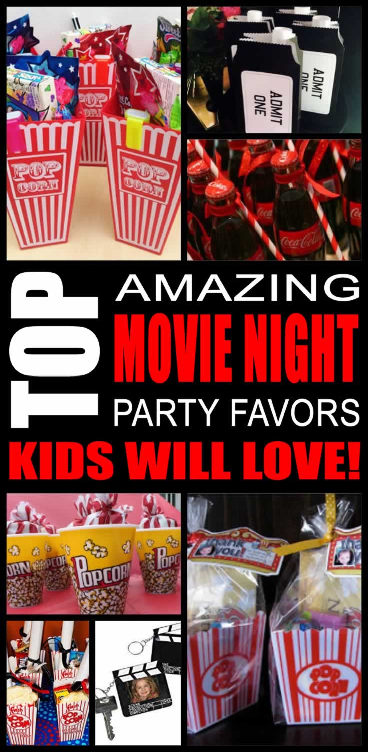 Top Movie Night Party Favors Kids Will Love
