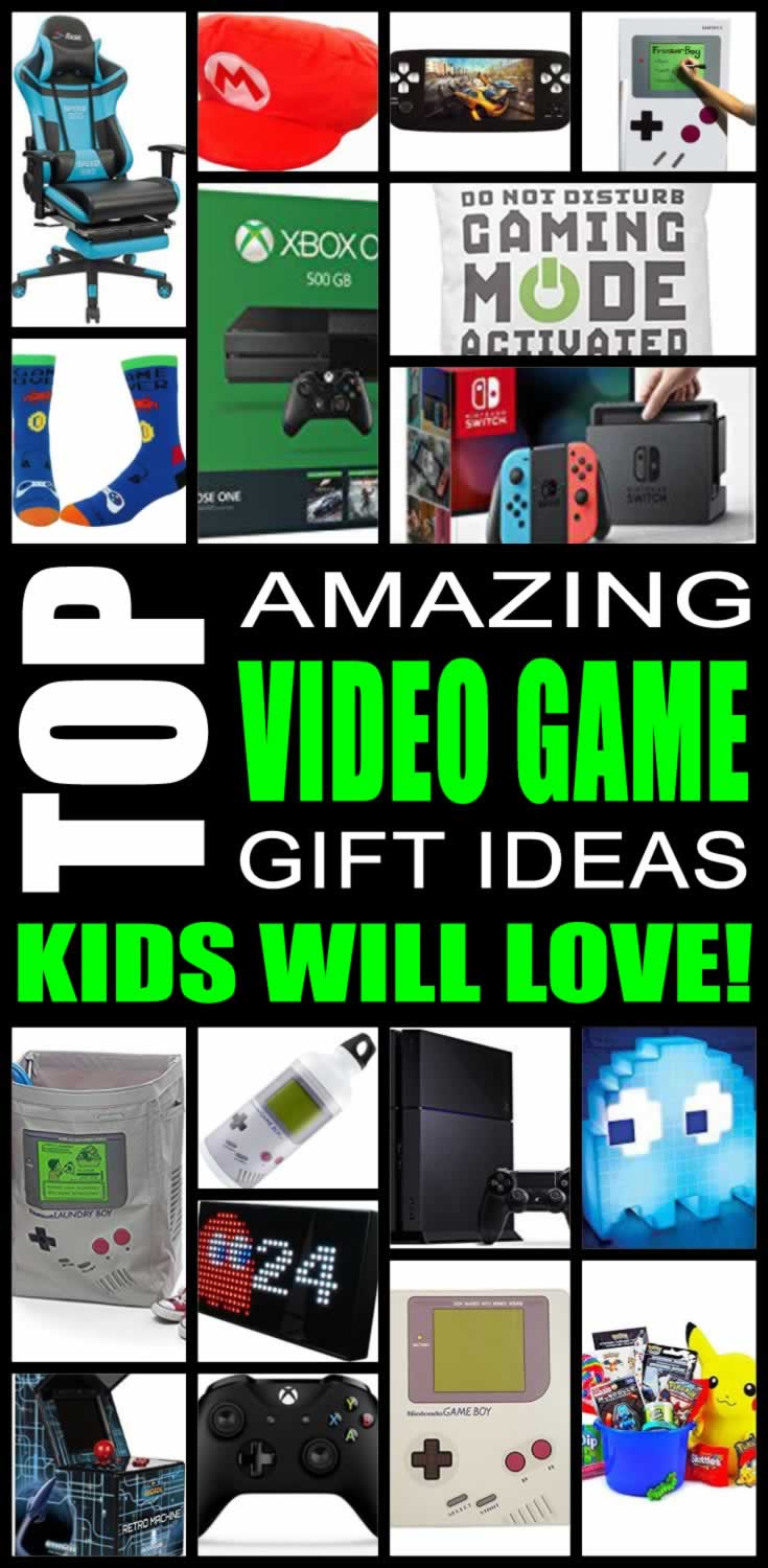 Top Video Game Gifts Kids Will Love