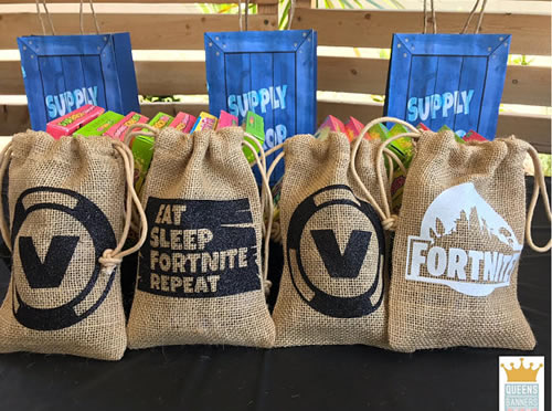 fortnite video game party favors