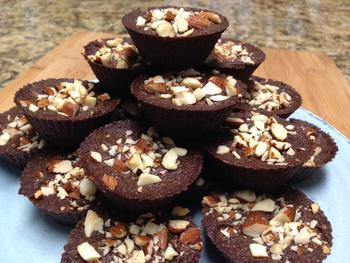 Chocolate Coconut Brownie Bites Keto Low Carb And Sugar Free