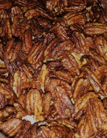 Keto Sweet And Spicy Pecans