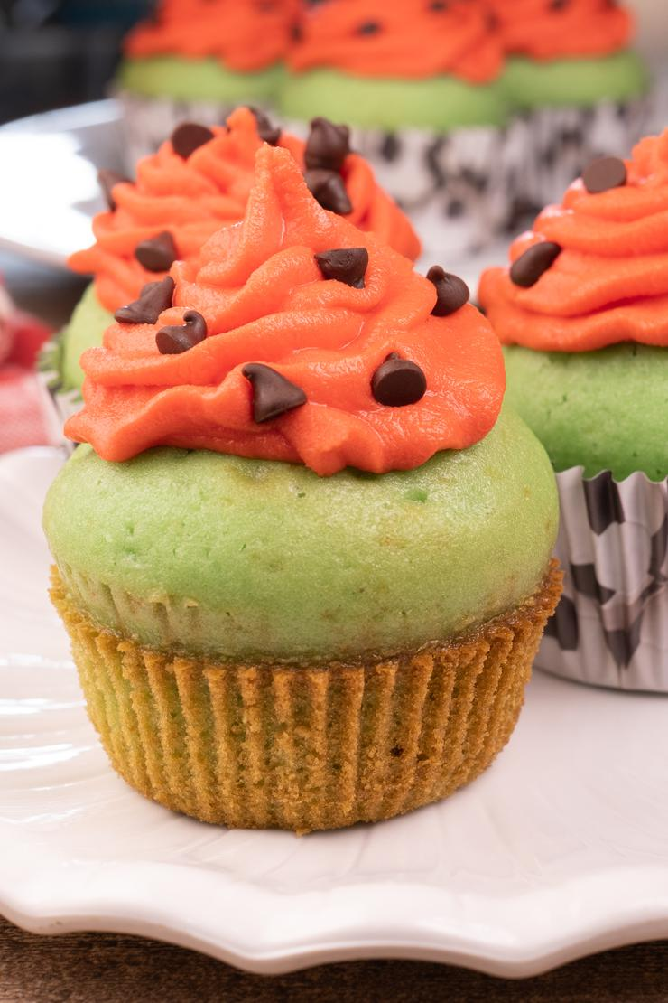 Easy Watermelon Cupcakes