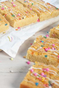 Cake Mix Blondies
